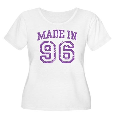 Made in 96 Women's Plus Size Scoop Neck T-Shirt