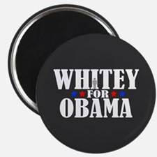 Whitey for Obama Magnet