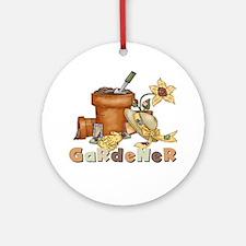 Gardener Ornament (Round)