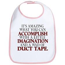 Wad of Duct Tape Bib