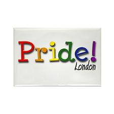 London Gay Pride Rectangle Magnet