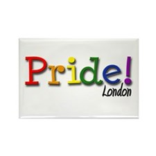 London Gay Pride Rectangle Magnet (100 pack)
