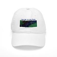 River Fishing Baseball Cap