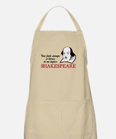 Shakespeare Literacy BBQ Apron