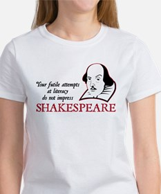 Shakespeare Literacy Tee