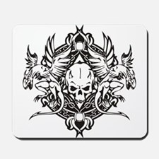 Dragon Biker Emblem Mousepad
