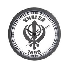 Khalsa Established 1699 Wall Clock