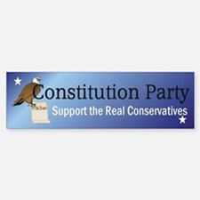Constitution Party Car Car Sticker