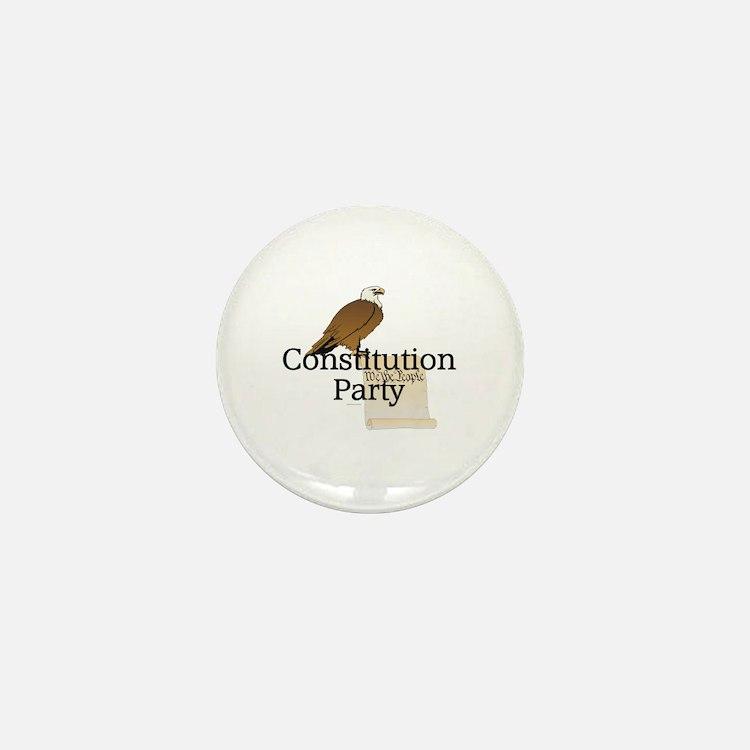 Constitution Party Mini Button