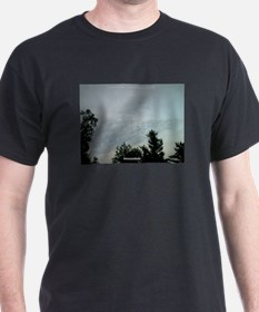 GOD pointing at ELY MN T-Shirt