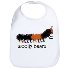 Woolly Bears Bib