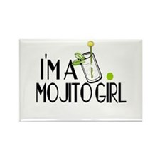 I'm a Mojito Girl Rectangle Magnet