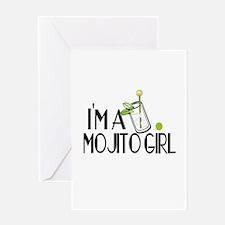 I'm a Mojito Girl Greeting Card