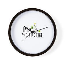 I'm a Mojito Girl Wall Clock