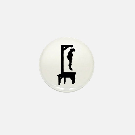 Well Hung Man Mini Button