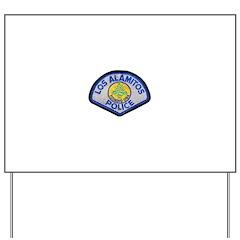 Los Alamitos Police Yard Sign