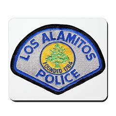 Los Alamitos Police Mousepad