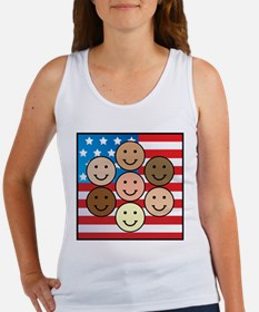 America People of Many Colors Women's Tank Top
