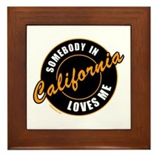CALIFORNIA Framed Tile