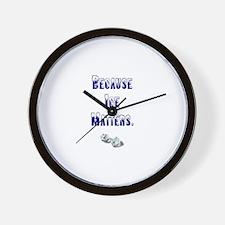 Cute Bobsledder Wall Clock
