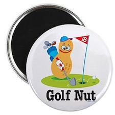 Golf Nut Magnet