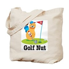 Golf Nut Tote Bag