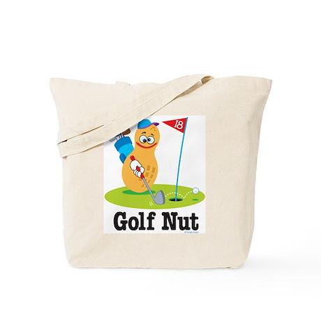 Golf Nut Tote Bag