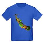 Surreal B-52 Bomber Kids Dark T-Shirt