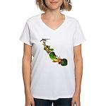 Surreal B-52 Bomber Women's V-Neck T-Shirt