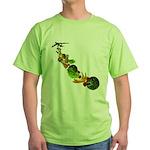 Surreal B-52 Bomber Green T-Shirt