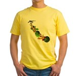 Surreal B-52 Bomber Yellow T-Shirt