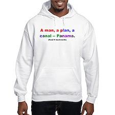 A man, a plan, a canal -- Pan Hoodie