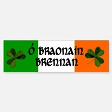 Brennan Coat of Arms Sticker (Bumper)