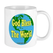 God Bless The World Mug