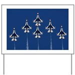 USAF Thunderbirds Yard Sign