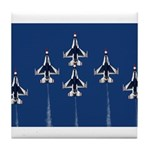 USAF Thunderbirds Tile Coaster