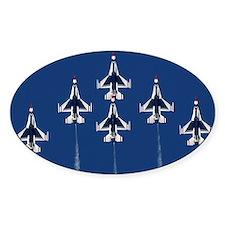 USAF Thunderbirds Oval Decal