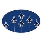 USAF Thunderbirds Oval Sticker