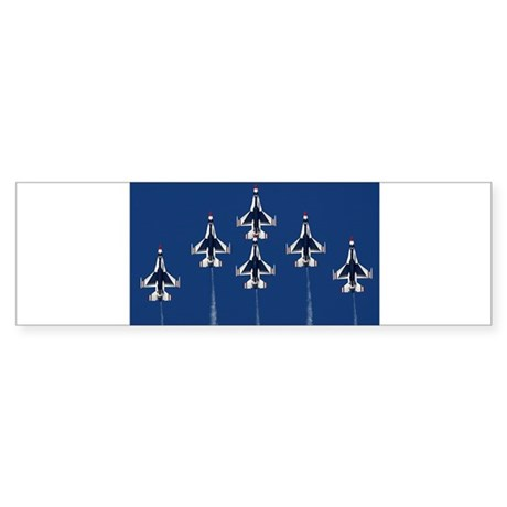 USAF Thunderbirds Bumper Sticker