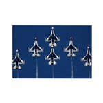 USAF Thunderbirds Rectangle Magnet (10 pack)