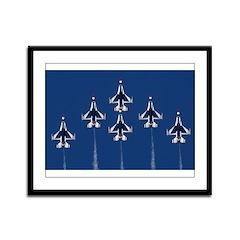 USAF Thunderbirds Framed Panel Print