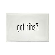 got ribs? Rectangle Magnet (100 pack)