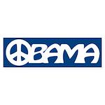Obama Peace Bumper Sticker (10 pk)