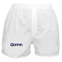 Obama Peace Boxer Shorts