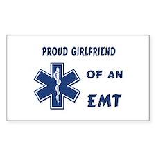 EMT Girlfriend Rectangle Decal