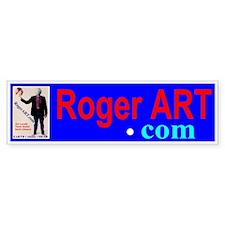 RogerART.com Bumper Bumper Sticker
