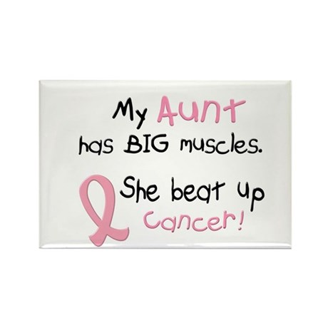 Big Muscles 1.1 (Aunt) Rectangle Magnet (100 pack)