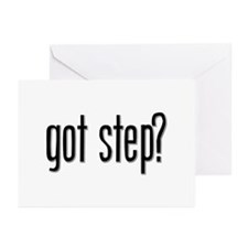 Got Step? Greeting Cards (Pk of 10)