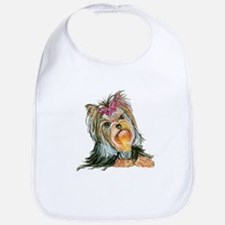 Yorkie Gifts for Yorkshire Terriers Bib