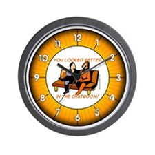 Chatters Wall Clock